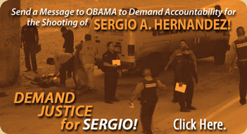 Demand Justice for Sergio Adrian Hernandez!