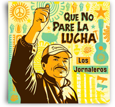 Los Jornaleros del Norte CD Cover